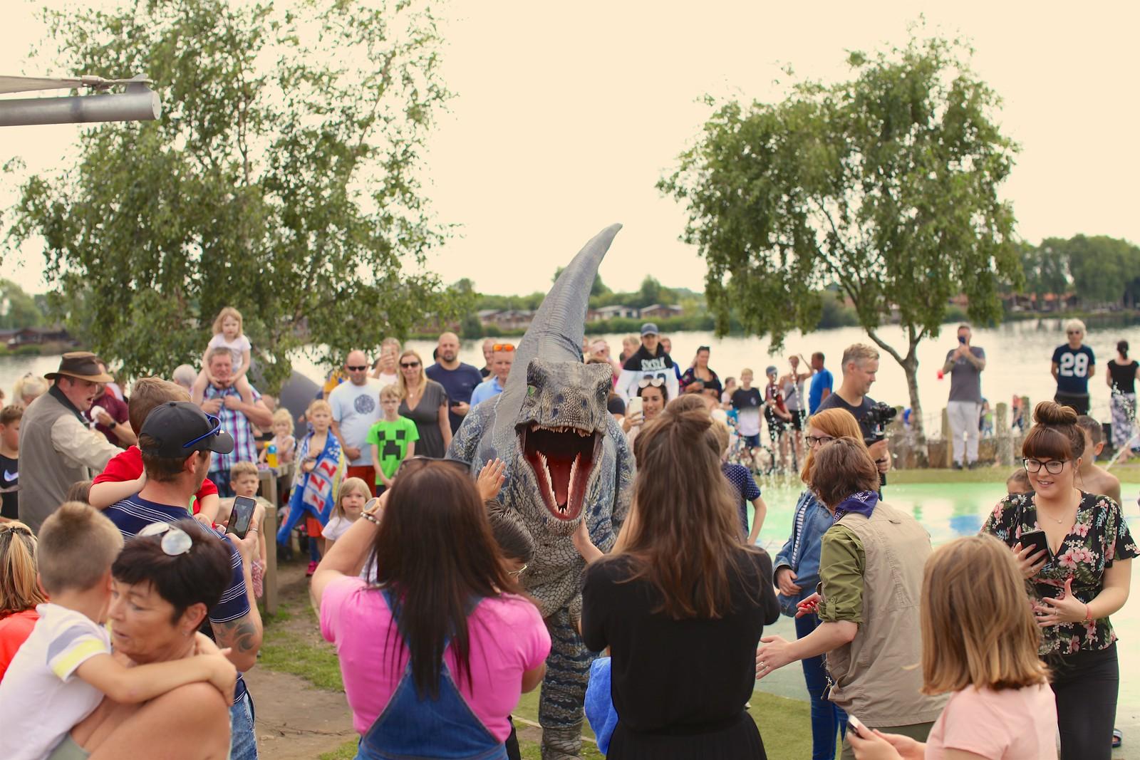 Dino World 2021 at Tattershall Lakes