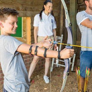 Archery - bullseye!