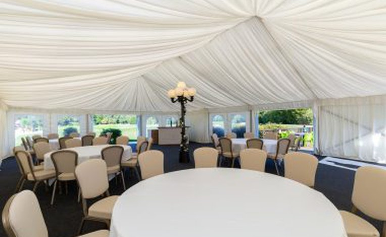 Marquee & decking image