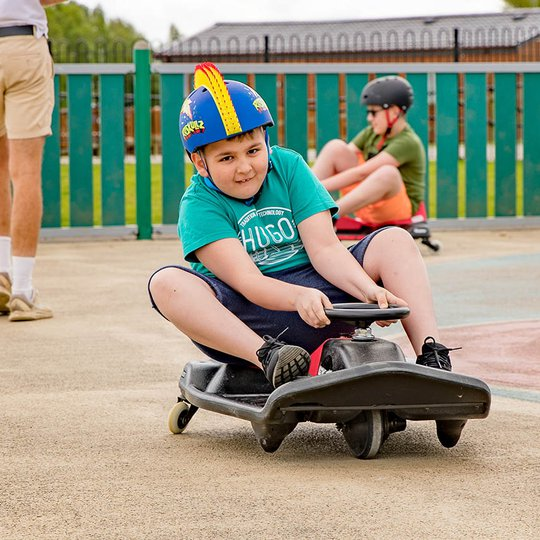 Crazy karts - what kids doesn't love these!