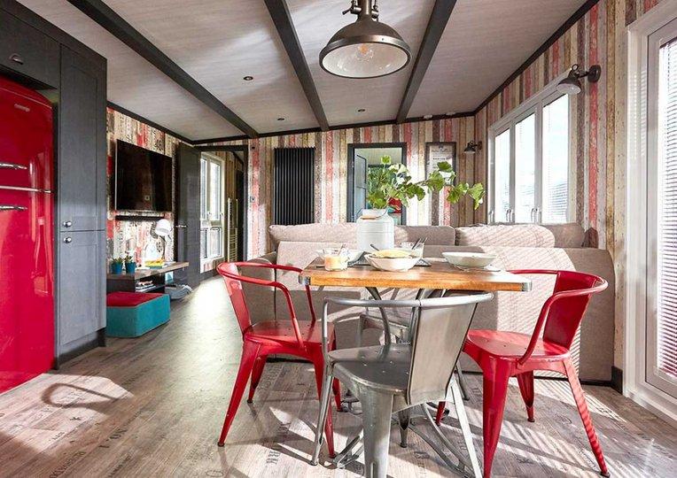 Central, light-filled living space