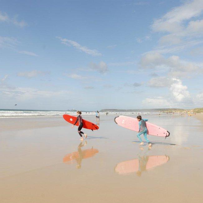 On the breath-taking Cornish coast image