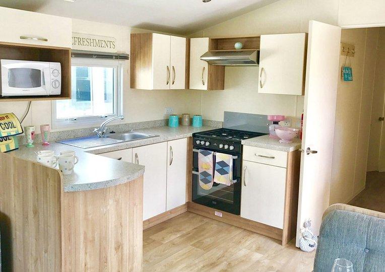 Convenient kitchen area