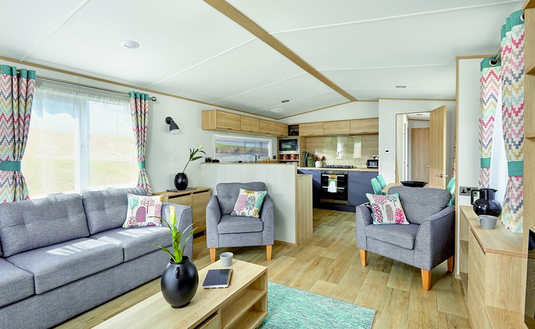 Caravans and lodges to choose from image