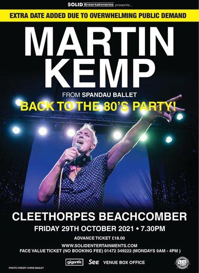 Martin Kemp DJ image