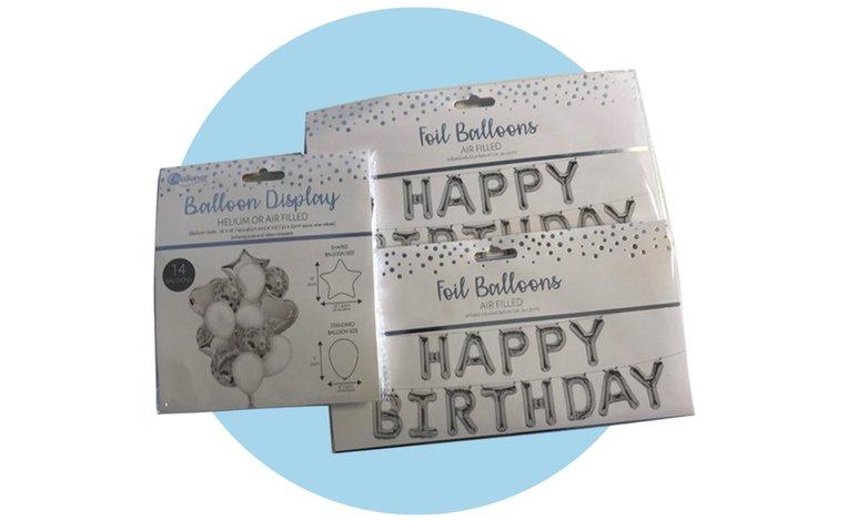 Adult Birthday Decorations - £10 image