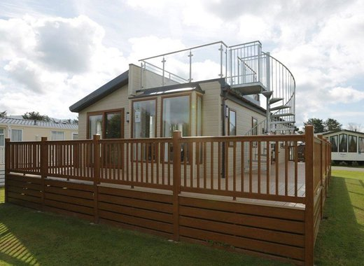 Indulgent Lodge with Roof Terrace image