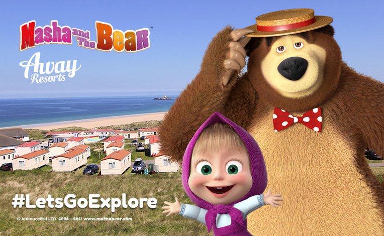 We've partnered with Masha and the Bear! image