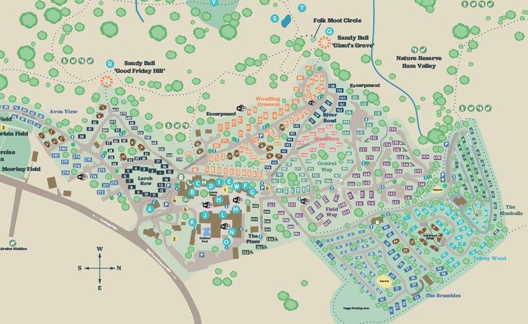 Sandy Balls map