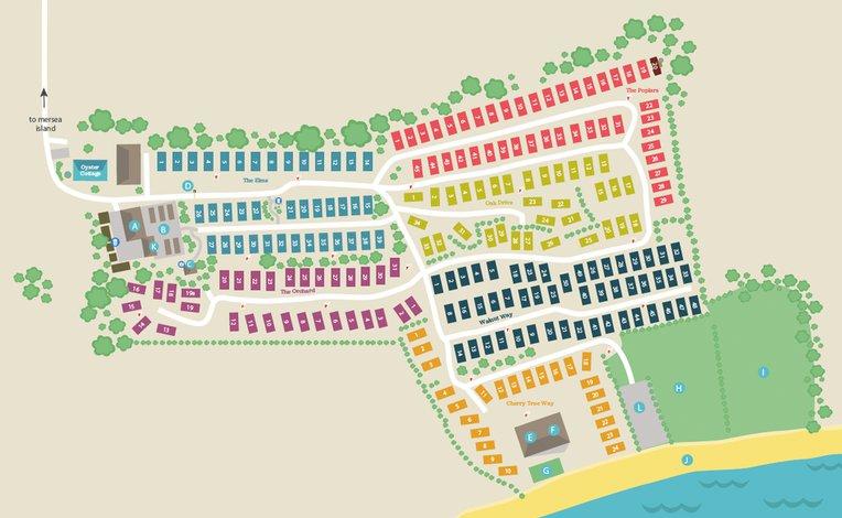 Mersea Island map